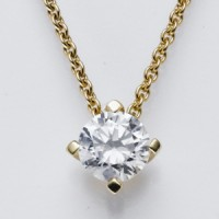 Viore Diamantcollier Gelbgold 13662 Diamant 0,10 ct.