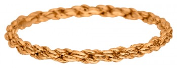 Flechtring Goldmiss Rotgold 222 Schnurring