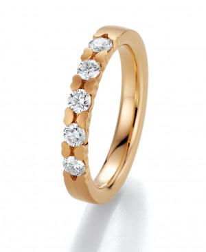 Verlobungsring Apricot Gold 05020 0,45 ct.